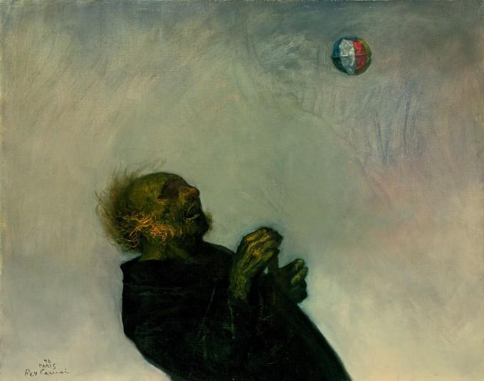 「風船」 1976年 油彩 73.0×92.2