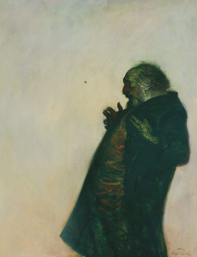 「蛾」 1976年 油彩 116.0×89.0
