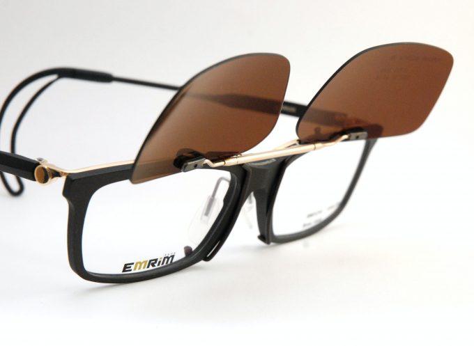 エムリム用フリップサングラス